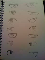 ToG characters eyes