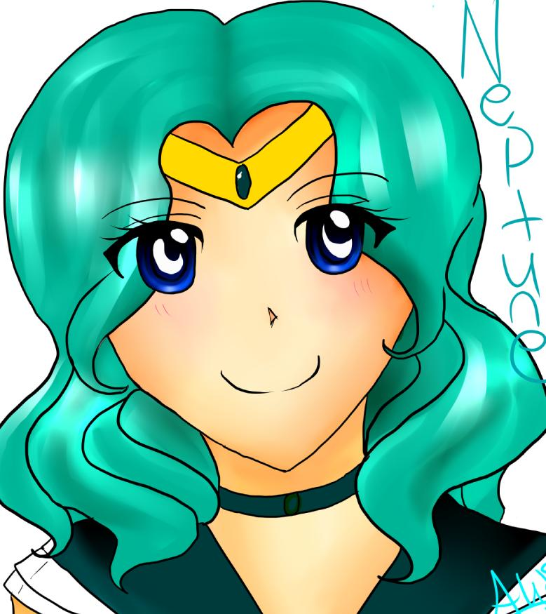 Sailor Neptune~ by Angelwing8