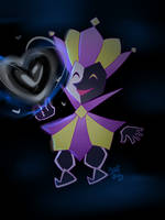Dimentio by PixelatedFairy