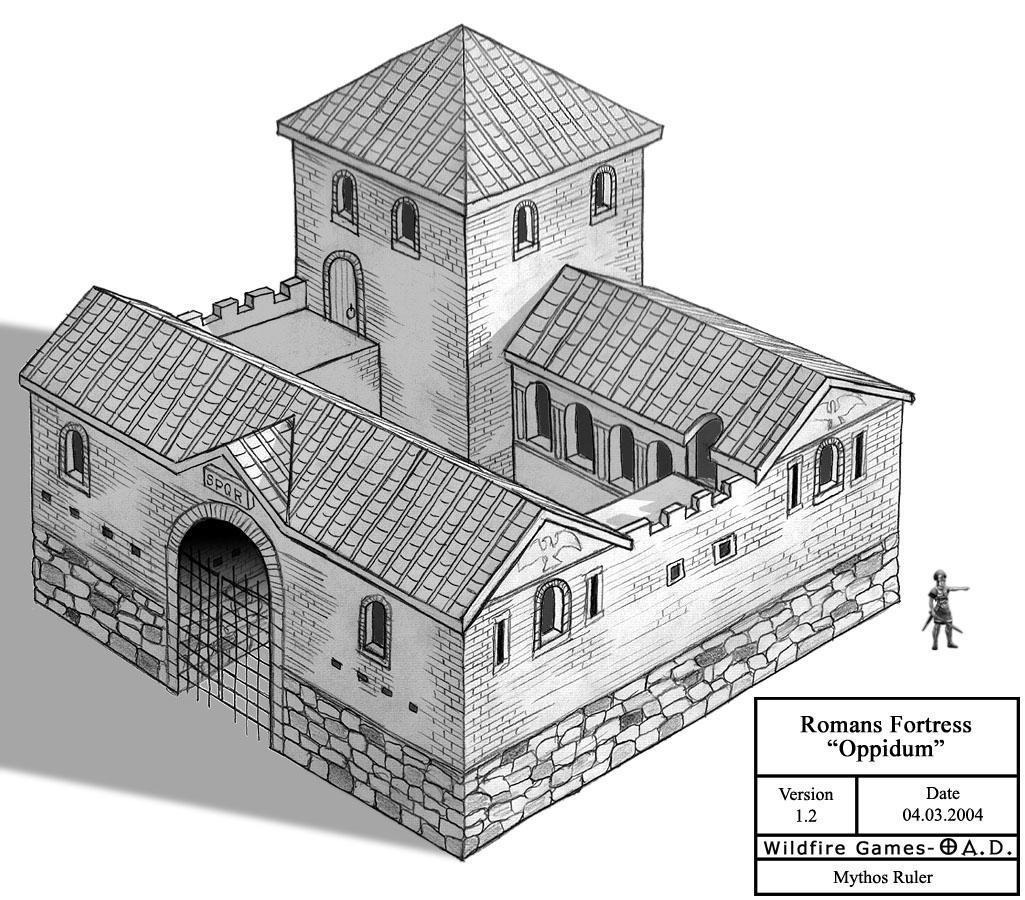 Romans Fortress 0ad By Mythosruler On Deviantart