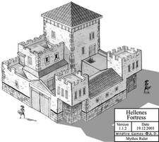 Hellenes Fortress by MythosRuler