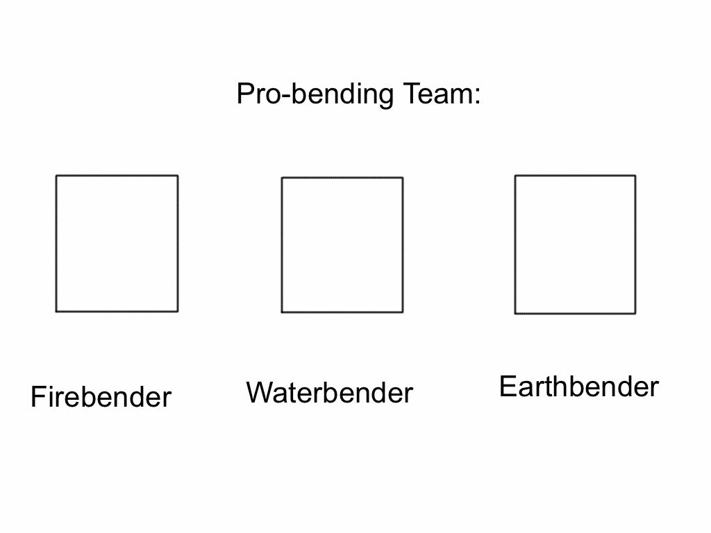 Pro-bending team blank meme template by Epic-wrecker on