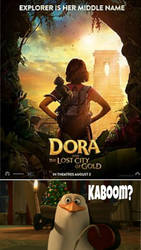 Rico wants to blow up the Dora Live action movie by Epic-wrecker