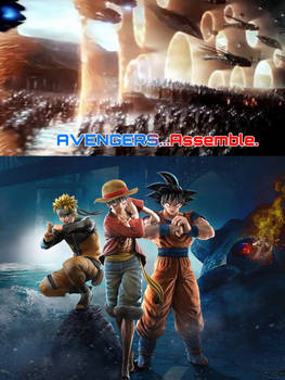 Jump Force joins forces with the Avengers