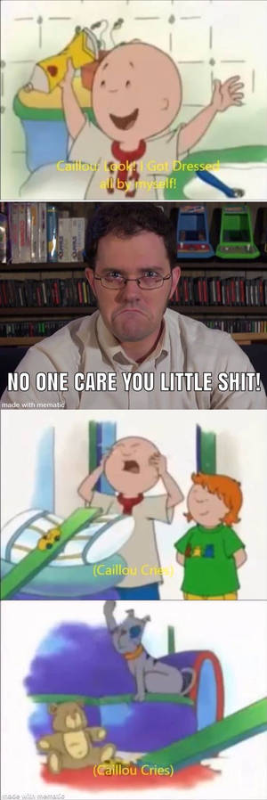 AVGN is mean to Caillou