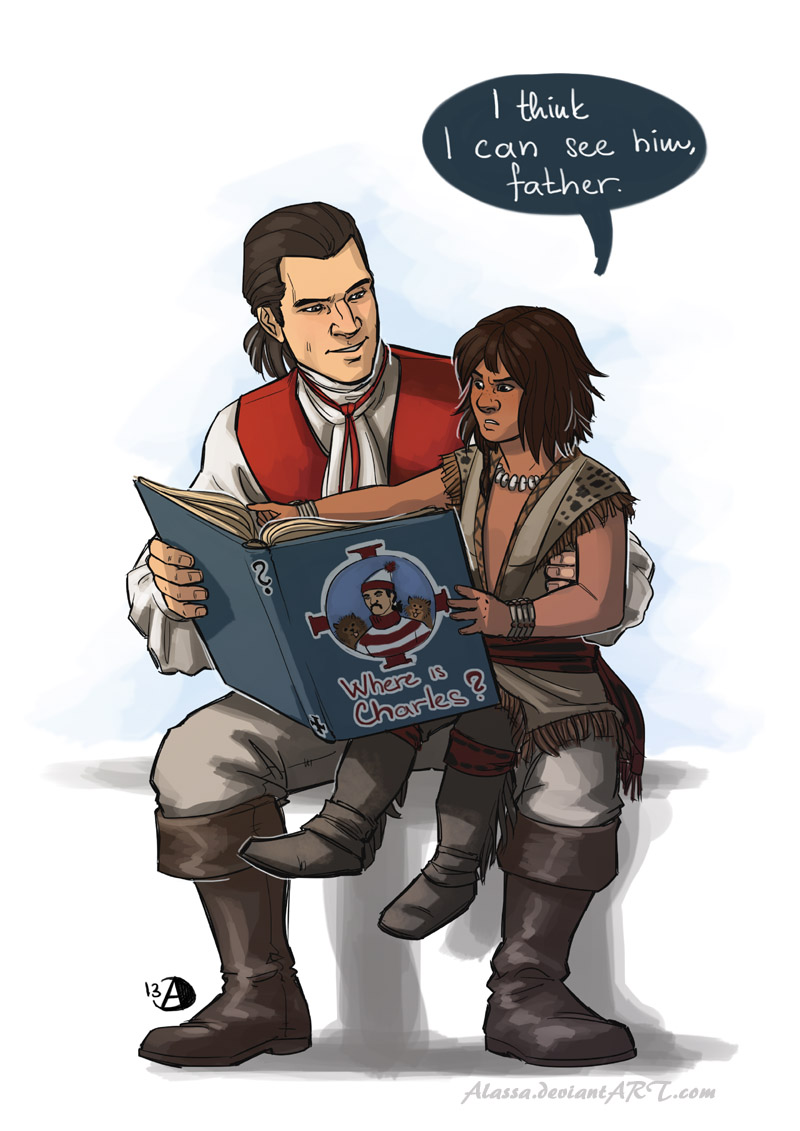 edward kenway and connor relationship help
