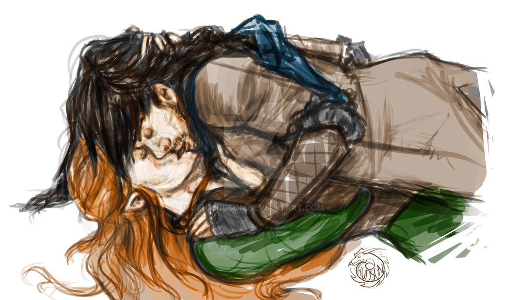 Kili and Tauriel by JeniHudson on DeviantArt