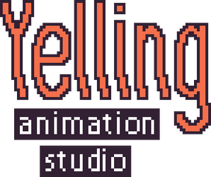 brand text of Yelling Animation Studio by 0tanim