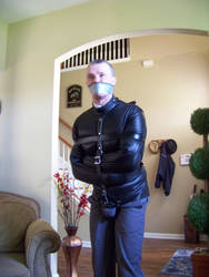 Straightjacketed!! by subdudewithrope