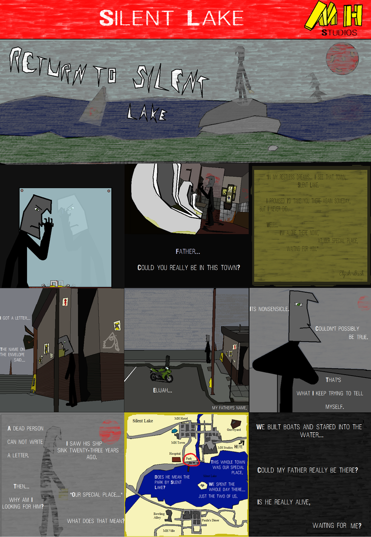 Return to Silent Lake: Page 1 by Balisk