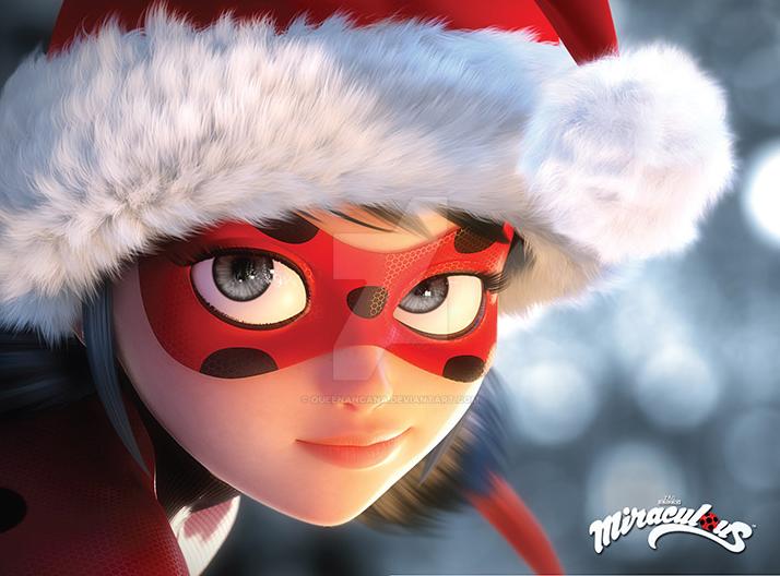 Miraculous Ladybug Christmas by QueenAncana on DeviantArt