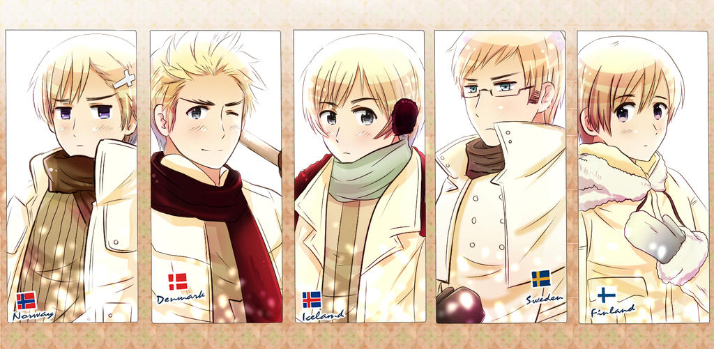 Hetalia Norway X Reader