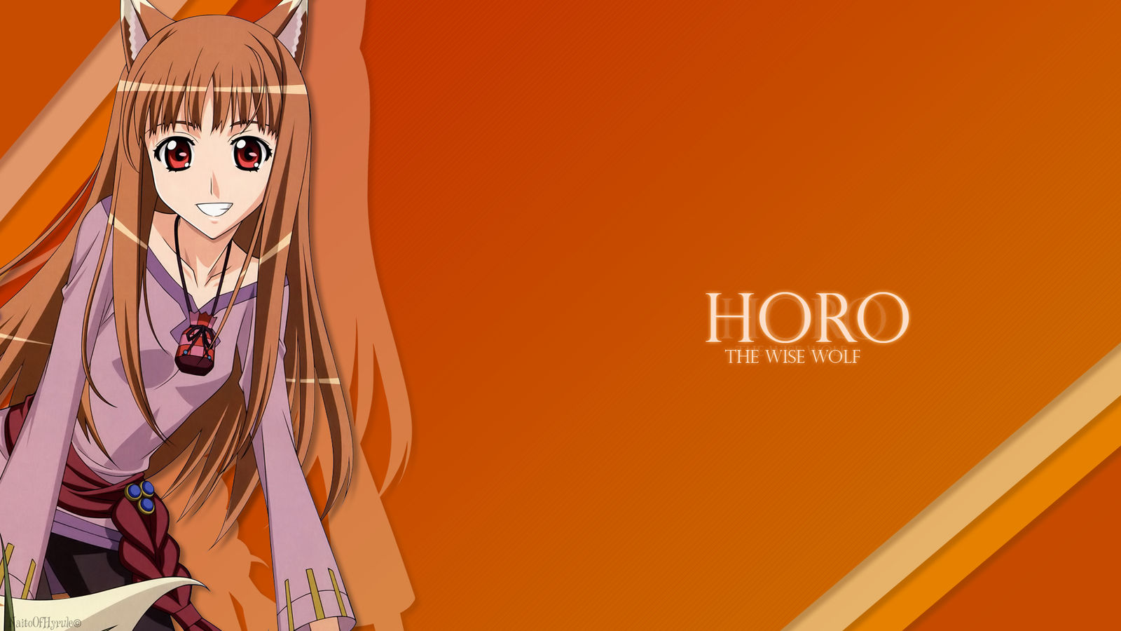 Spice And Wolf Wallpaper By Artinuss On Deviantart