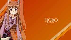Spice and Wolf Wallpaper by Artinuss