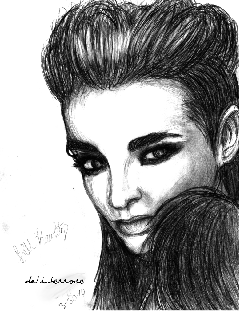 Bill Kaulitz drawing by InterRose