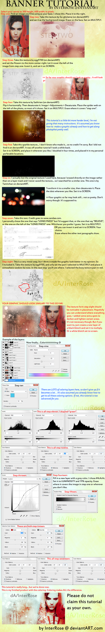 Banner Tutorial by InterRose