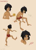 Mowgli by LinaHoshi