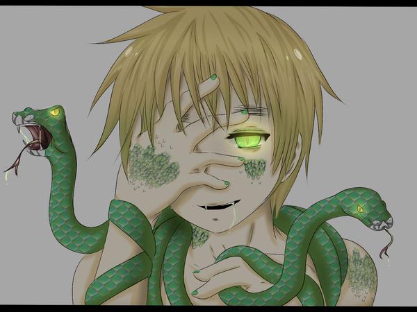 Hetalia Cold Hearted Snake By Hawaiian Brit On Deviantart