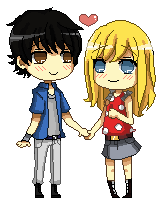 Pixel Commission: Vitor and Alex by Yunisaki
