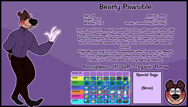 Bearly Pawsible