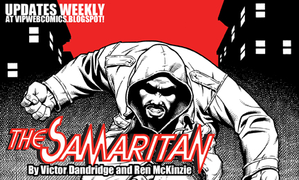 The Samaritan Webcomic Promo by vantageinhouse