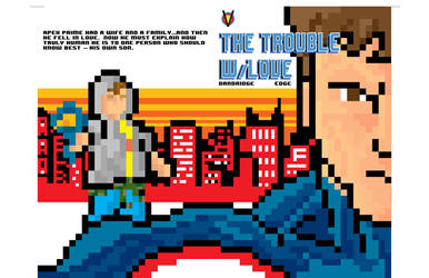 The Trouble w/Love 8 Bit Variant Cover
