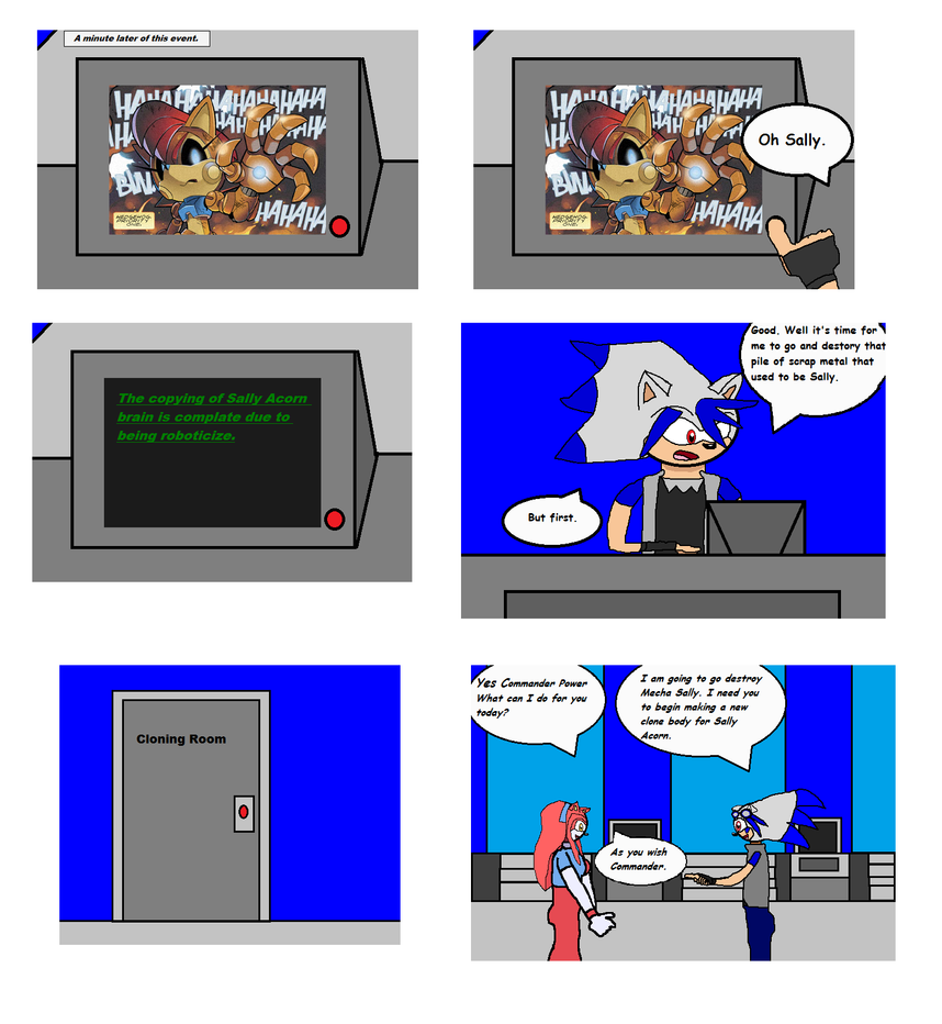 Comic issue 1 page 1 by Power1x