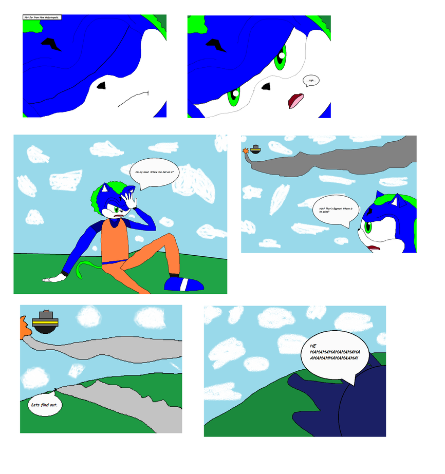 Comic issue 1 page 4 by Power1x
