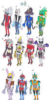 Members of the Nightmarercons