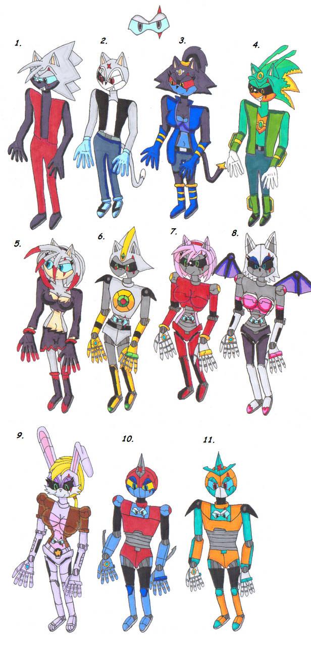 Members of the Nightmarercons by Power1x
