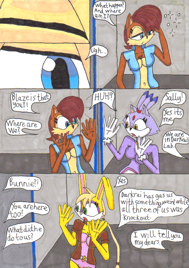 Immortal experiments page 1 by Power1x