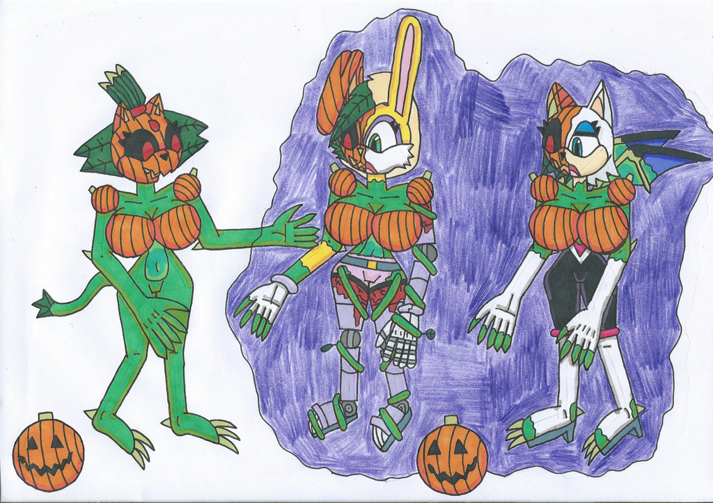 Pumpkin Curse 4 by Power1x