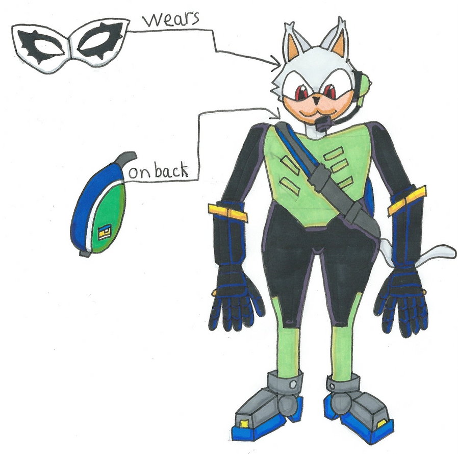 Sonic Force's Rook the Cat by Power1x