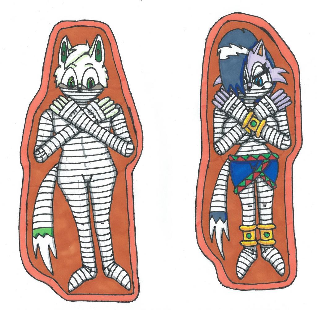 Request Wolf Mummies by Power1x