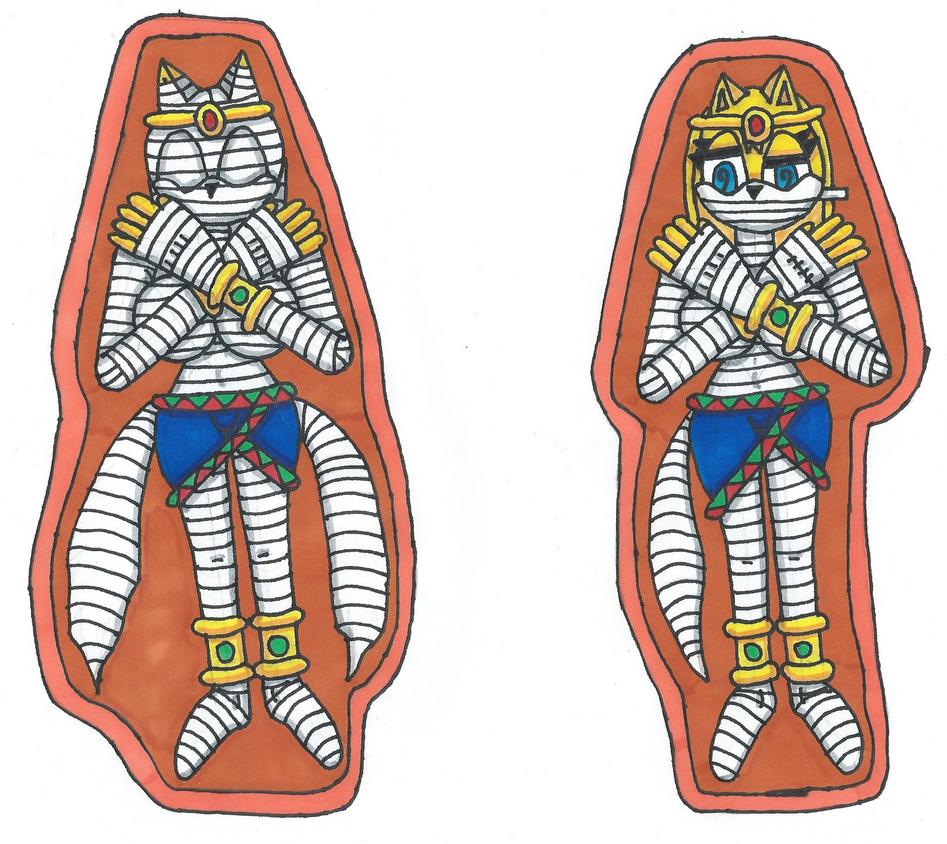 Request Fox Mummies by Power1x