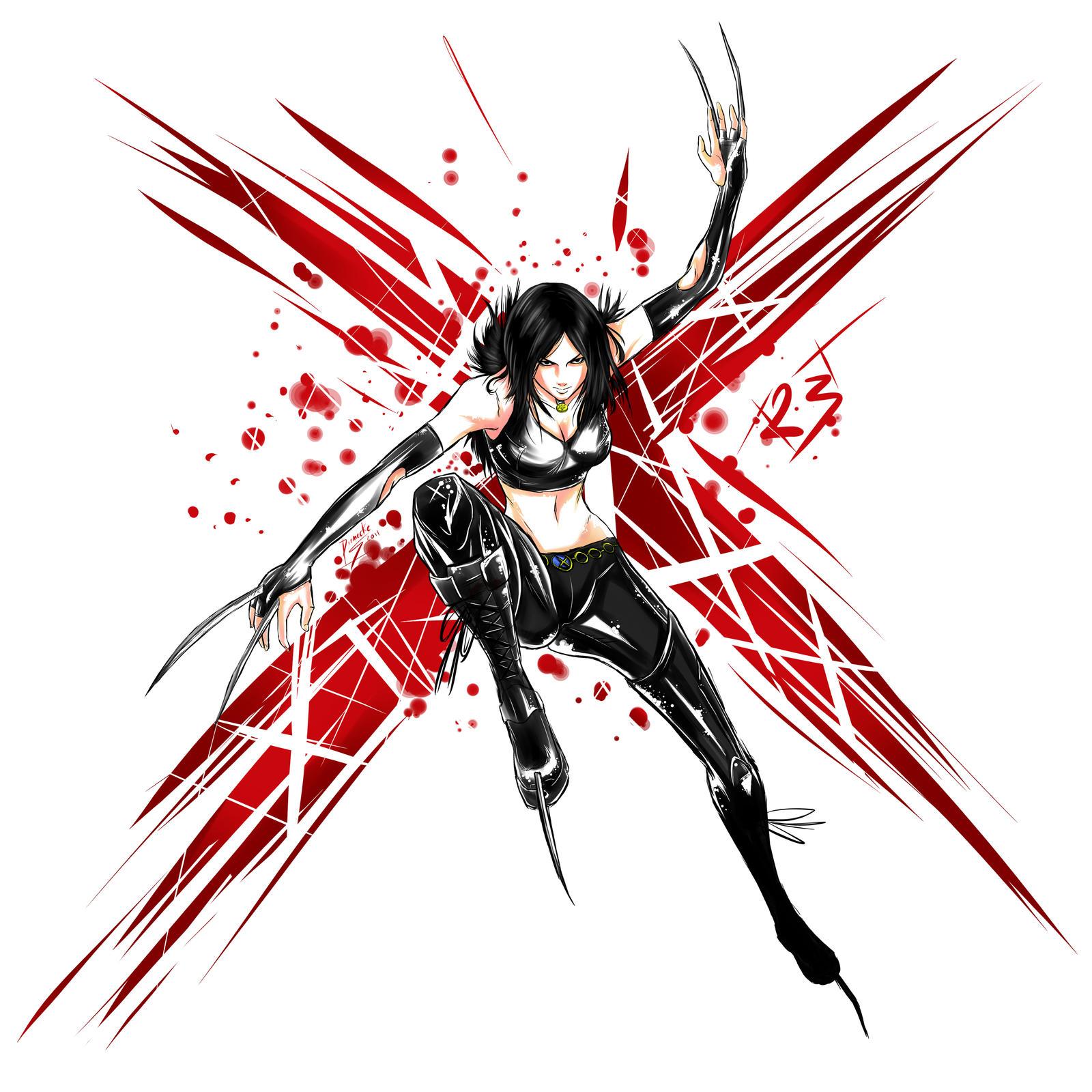 Laura 'X-23' Kinney by DynaIkari