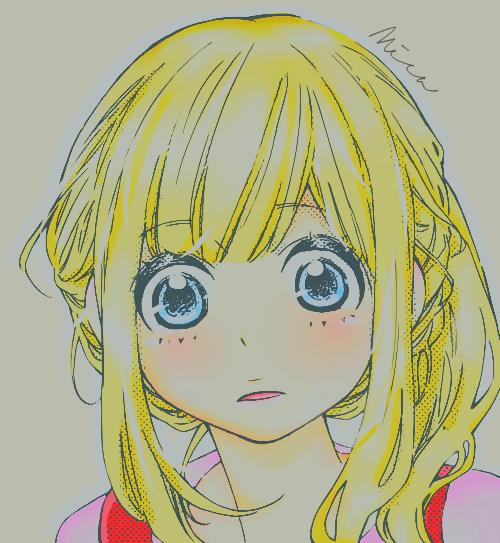 Anime coloring by Chica-Otaku