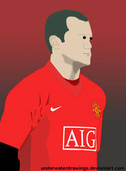 Wayne Rooney by underwaterdrawings