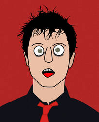 Billie Joe Armstrong by underwaterdrawings