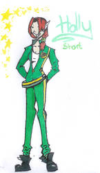 Holly Short- Artemis Fowl by everyone-smiles