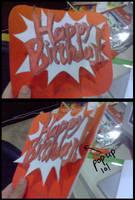 Birthday card.. sort of. by KayMikani