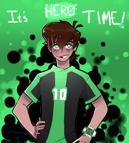 Ben 10 Omniverse It S Hero Time By Hotoki Chan124 On