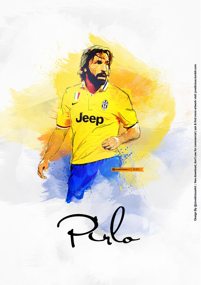 Andrea Pirlo by Nucleo1991