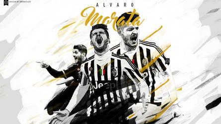 Alvaro Morata wallpaper 2015/16 by Nucleo1991