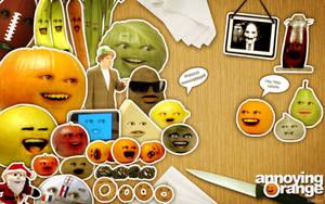 Annoying Orange and Friends by mi-principe