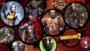 Borderlands 2 Wallpaper - Character Round Up