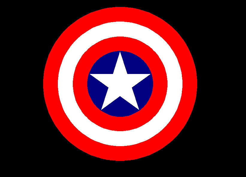Captain America's Shield by JasonXL