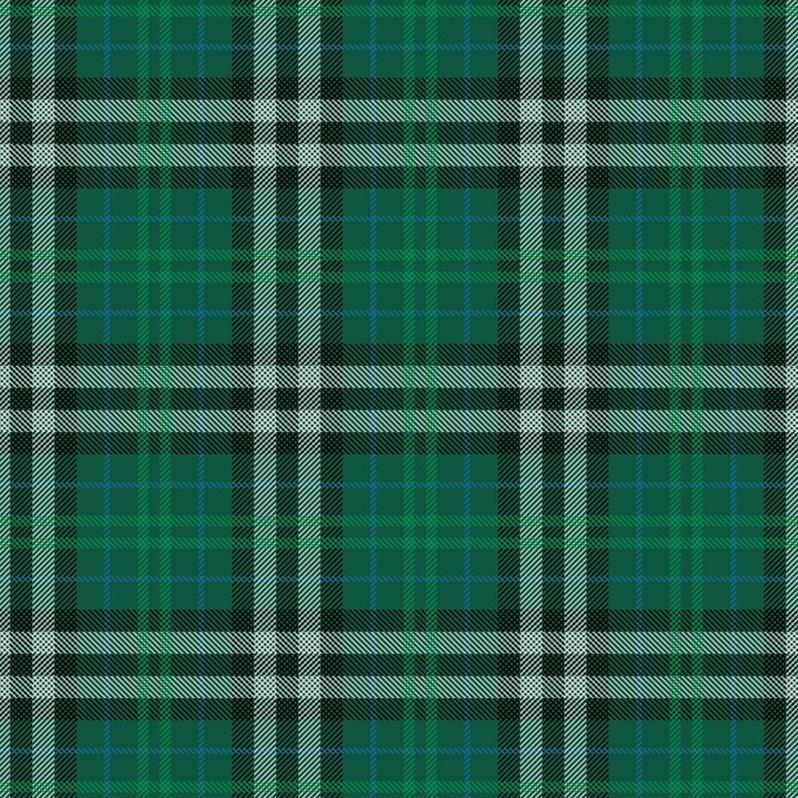 Green Plaid Pattern by JasonXL