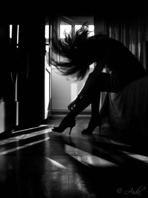 Playing with the shadows by AidaBabayeva