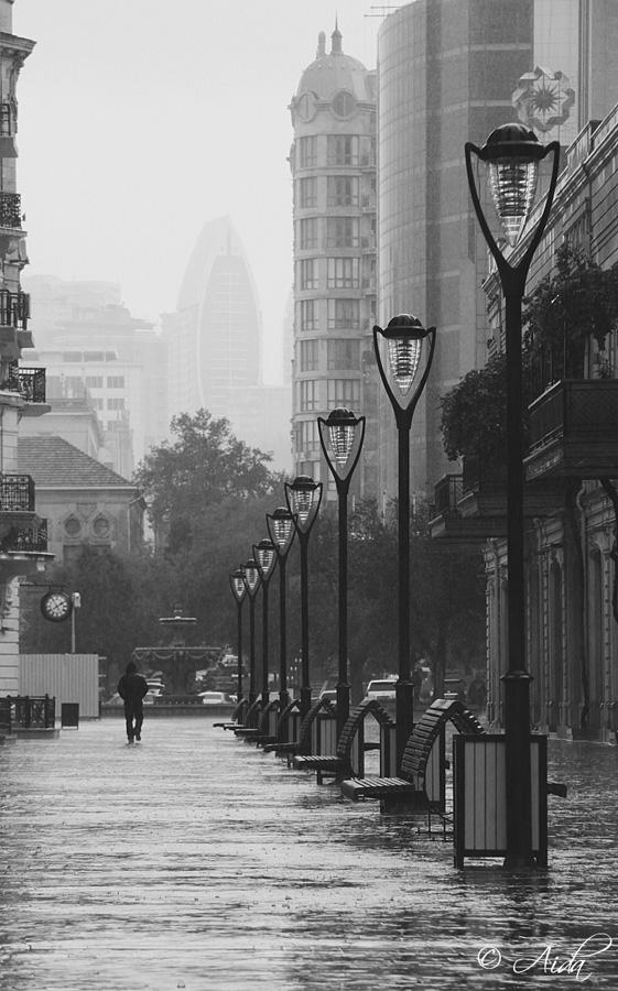 Rainy noise by AidaBabayeva